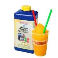 SLUSHYBOY®-Sirup 1-Liter-Flasche Pfirsich Maracuja