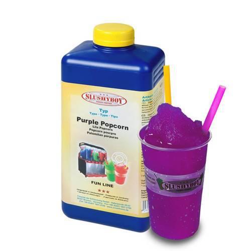 SLUSHYBOY®-Sirup 1-Liter-Flasche Purple Popcorn