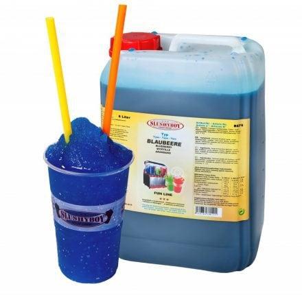 SLUSHYBOY®-Sirup 6-Liter-Kanister Blaubeere